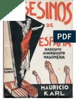 Mauricio Karl - Asesinos de España