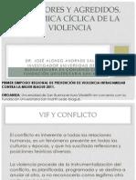 Agresores y agredidos PREVENCIÓN DE LA VIOLENCIA INTRAFAMILIAR by José Alonso Andrade Salazar