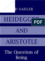Sadler - Heidegger and Aristotle the Question of Being