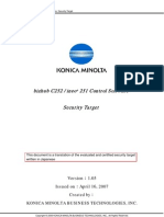 KONICA MINOLTA bizhub C252 - Control Software Guide