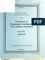 USSBS Report 99, Evaluation of Photographic Intelligence in the Japanese Homeland, Airfields