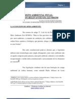 Resumo - Direito Ambiental Penal, Aspectos Relevantes Da Lei 9605.98 - Flavio Augusto Maretti Siqueira - Fcknwrath.k6.Com.br