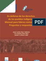 Manual Para Lideres Comunales preguntas y respuestas en defensa de los derechos de los pueblos indigenas