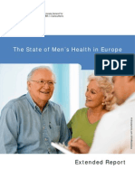 The State of Men's Health in Europe
