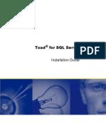 Toad for SQL Server 5 0 Installation Guide