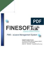 FINESOFT-FMS eLeave