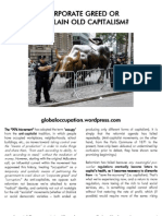 Capitalism and Occupy Wall Street - Not Pamphlet