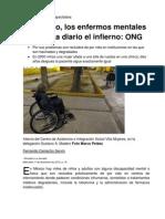 Abandonados y discapacitados