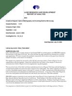 Inland Steel Report