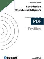Bluetooth 11 Profiles Book