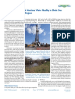 Hydrofracking Water Quality Monitoring