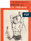 010 Laminas de Dibujo Freixas Estudio Del Cuerpo Humano
