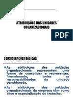 7 - Atribuições Das Unidades Organizacionais