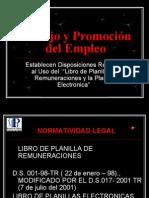Trabajo y Promoción  del Empleo125-06