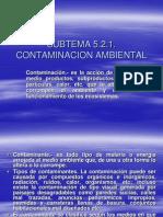 5.2.1 Material de Contaminacion Ambiental