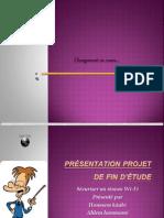 Copy of Présentation projet de fin d'étude