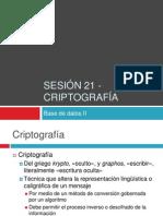 Uninter - BD2 - sesión 21 - criptografía