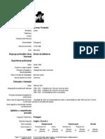 CV de Fernando Pessoa