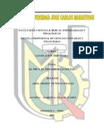 Pbi y Desarrollo Social