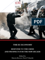 The EU Economy Response to the Crisis and Prospects for the New Decade
