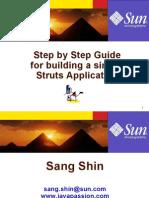 StepByStepGuideForBuidlingSimpleStrutsApp