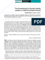 How Queer!—The Development of Gender Identity and Sexual Orientation in LGBTQ-Headed Families