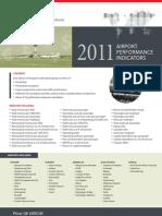 2011 UK Airport Performance Indicators Order Form
