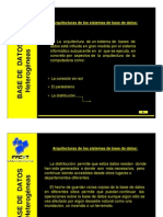 Bases de Datos Distribuidos