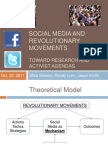 Social Media and Revolutionary Movements