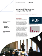PDF Improving IT Infrastructure Pays Off