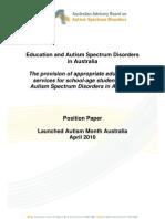Education Position Paper 2010
