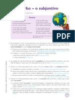Gramatica 7 Verbo o Subjuntivo