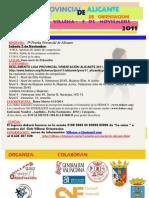 PROGRAMA_5ª Prueba Provincial de Alicante