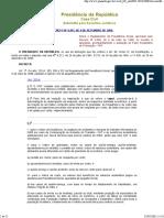 MPAS - Decreto nº 6957