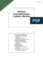 Tema 17 Generos Corynebacterium Listeria y Bacillus - Color[1]