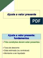 09_Ajuste a Valor Presente