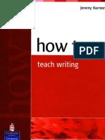 How to teach Writing