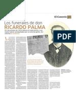 Los Funerales de Ricardo Palma