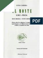 El Monte de Lidia Cabrera