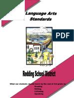 Language Arts Standards Grade 3