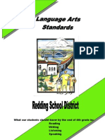 Language Arts Standards Grade 4