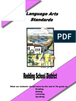 Language Arts Standards Grade 7