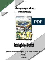 Language Arts Standards Grade 8