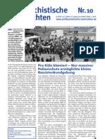 antifaschistische nachrichten 2009 #10