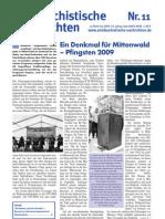 antifaschistische nachrichten 2009 #11
