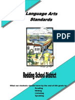 Language Arts Standards Grade 6