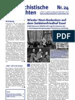 antifaschistische nachrichten 2009 #24
