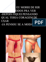 Lingeries Masculinas