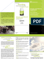 Brochure New Vitamin CA En