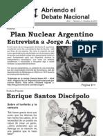 Abriendo el Debate Nacional - Nº2 - Octubre 2011